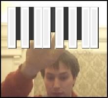 Webcam PIANO