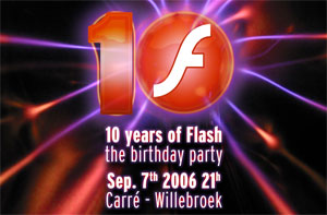 10 years of Flash, the birtday party