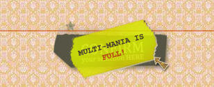 Multi-Mania fully booked