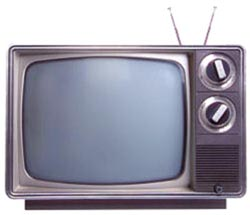 Picture of my old television